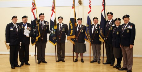 No4 Area Standard Bearers Competition 2016