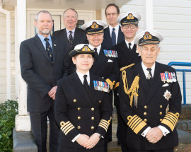 HMS Collingwood 80th anniversary