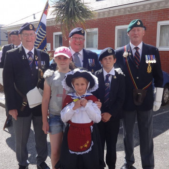 Armed Forces Day in Llanduno 2018