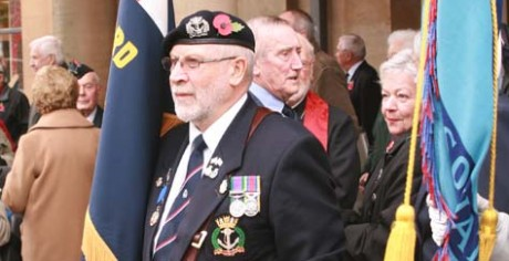 Chard Branch Armistice Day Images 2013