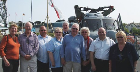 Final Visit to HMS Cornwall