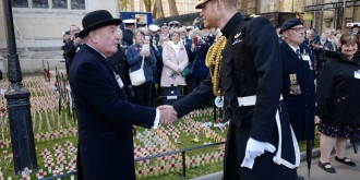 Rna National President Meets Prince Harry