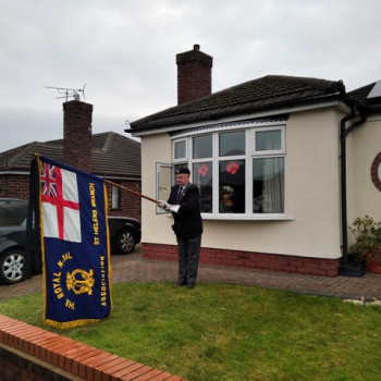Shipmate Phil Stansbie St Helens Branch