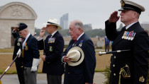 VJ Day 75 at Portsmouth Naval War Memorial
